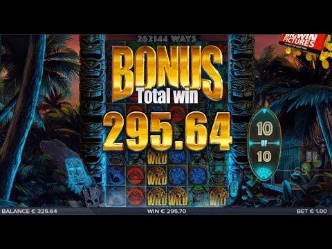 Tahiti Gold Slot – BIG WIN Compilation!