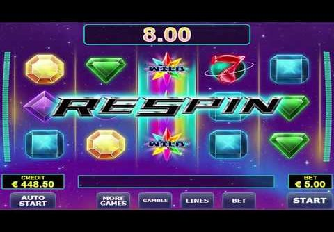 Mega Win On Risk Game – Gemstar Slot Machine By Amatic