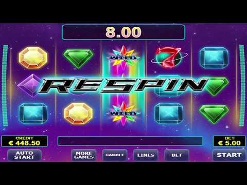 Mega Win On Risk Game – Gemstar Slot Machine By Amatic