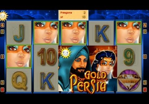 Big Win on Gold of Persia Slot