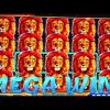 FULL SCREEN MEGA HUGE WIN!!! KING OF AFRICA SLOT MACHINE!!!