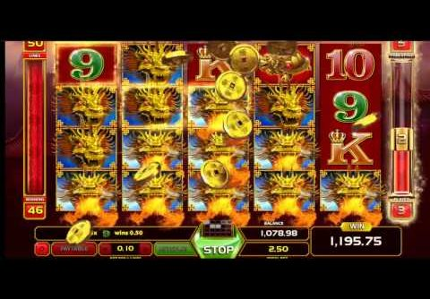 Dragon King Slot (GameArt) – Mega Big Win in Freespin Feature