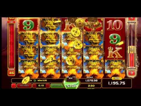 Dragon King Slot (GameArt) – Mega Big Win in Freespin Feature