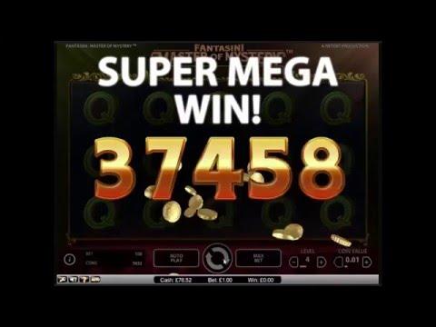 Fantasini Master of Mystery Slot – Super Mega Win – NetEnt