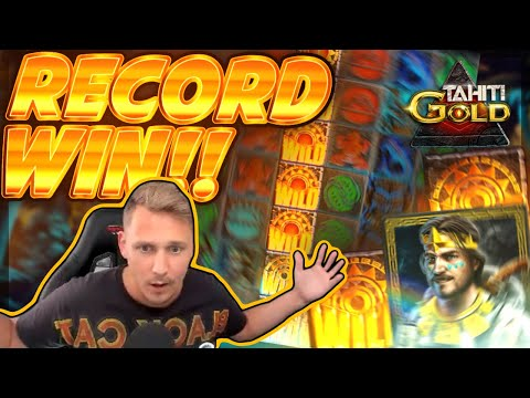 RECORD WIN!! Tahiti Gold BIG WIN – Epic Win on Online Slot from Casinodady