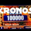 KRONOS slot machine HUGE MEGA BIG WIN BONUS!