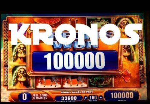 KRONOS slot machine HUGE MEGA BIG WIN BONUS!
