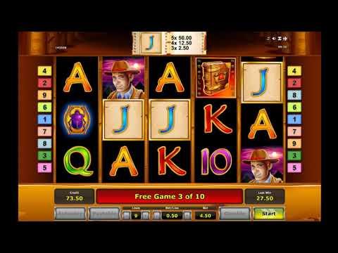 Book of Ra Free Spins and Big Win (Novomatic slot)