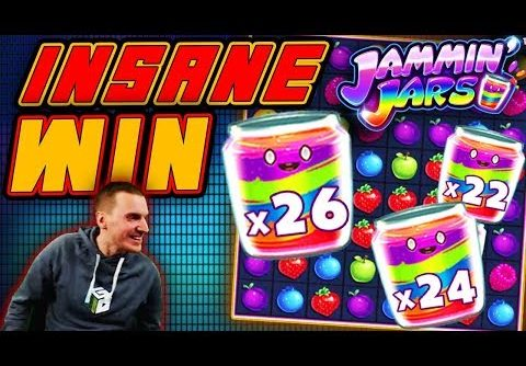 INSANE WIN on Jammin Jars' Slot – £4 Bet