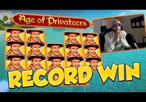 RECORD WIN!!! Age of Privateers Big win – Casino Games – Online slots – Huge Win