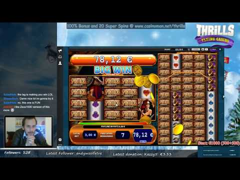 Biggest Slot wins on Stream – Week 3 / 2017