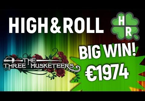 Play The Three Musketeers Slot Machine Online (Quickspin)  Big Win