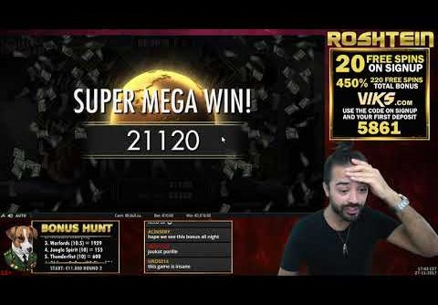 MUST SEE RECORD WIN!! NEVER SEEN ON SLOT INVISIBLE MAN – EPIC!
