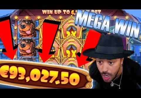 ROSHTEIN Win 93.000€  on The Dog House  slot – Top 5 Biggest Wins of week