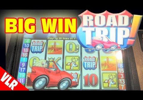 Road Trip – SUPER BIG WIN – Classic Slot Machine Bonus
