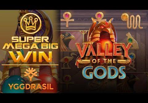 Epic Mega Win!!! Bonuses in slot – Valley of the Gods Slot! Big Win!!!