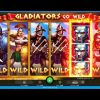 Gladiator Go Wild Super Big Win, FULL SCREEN