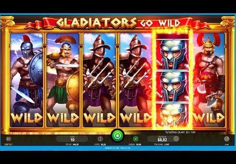 Gladiator Go Wild Super Big Win, FULL SCREEN