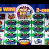 2-cent STINKIN' RICH SLOT – BIG WIN!!! – Slot Machine Bonus