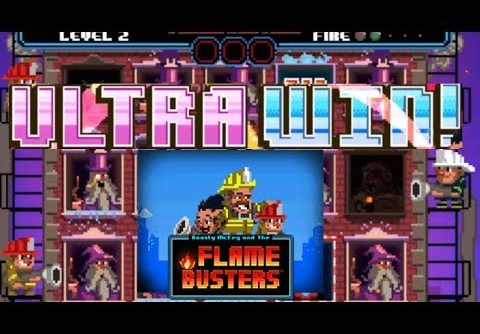 Big Bonus Win on Flame Busters Slot From Thunderkick