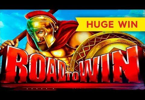 HUGE WIN! Road To Win Slot – AWESOME RETRIGGER BONUS!