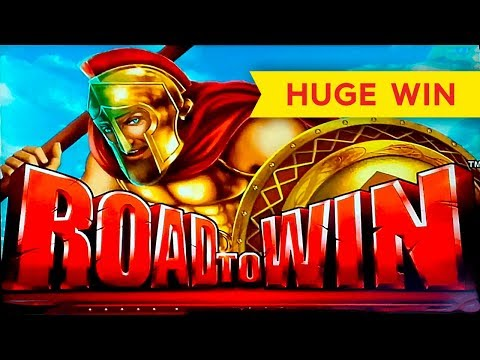 HUGE WIN! Road To Win Slot – AWESOME RETRIGGER BONUS!