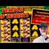 TEMPLE OF SECRETS SLOT! Retriggers For A Big Win!