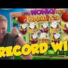 RECORD WIN!!! Wonky wabbits 15€ bet Big win – Casino – Huge Win (WILDLINE)