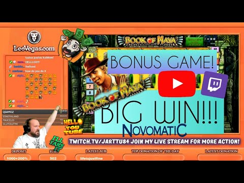 Bonus Game!! Big Win From Book Of Maya Slot!!
