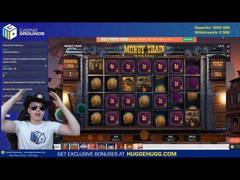 Huge Mega Win in Money Train!