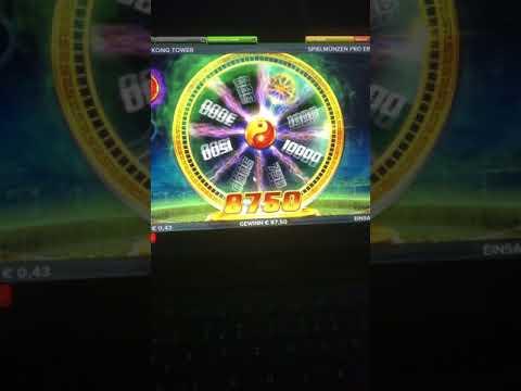 Hong Kong Tower Slot Big Win!! 1 Euro only