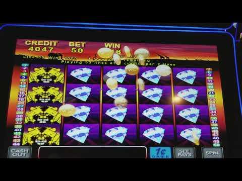 Mega win 50 lions slot