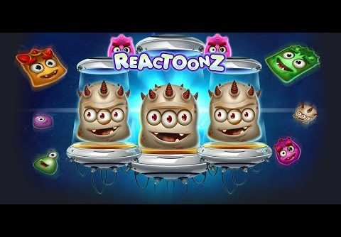 This Is Mega Big Win And Kindness Reactoonz Slot / One Biggest Win In Reactoonz