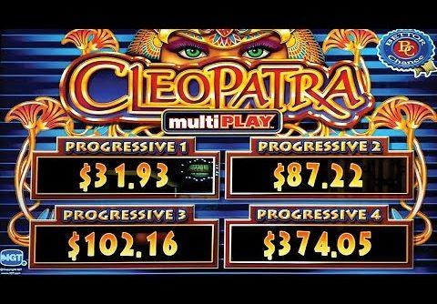 MAJOR PROGRESSIVE! Cleopatra multiPLAY Slot – BIG WIN, YES!