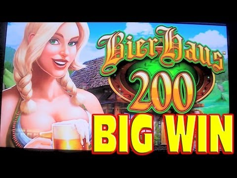 Bier Haus 200 – MEGA BIG WIN – Las Vegas Slot Machine BONUS + RETRIGGER