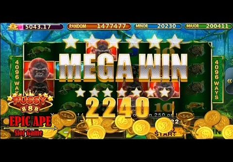 Click HERE! Pussy888 Epic Ape (6X4) Slot Game – MEGA WIN