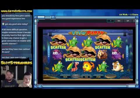 Fish Party slot MEGA win!