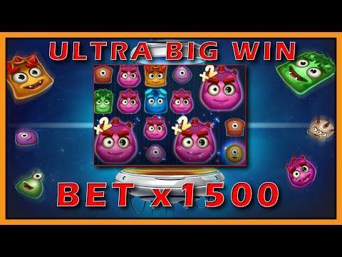 HUGE MEGA WIN! $9000?  Reactoonz win record ! ONLINE CASINO