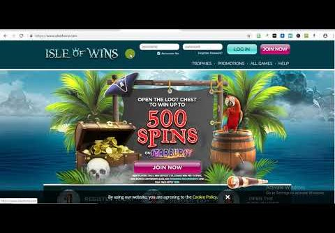 Welcome To Isle Of Wins Slot Win Up To 500 Free Spins On Starburst!