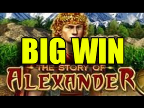 Online slots HUGE WIN 2.5 euro bet – The story of Alexander BIG WIN (EGT)