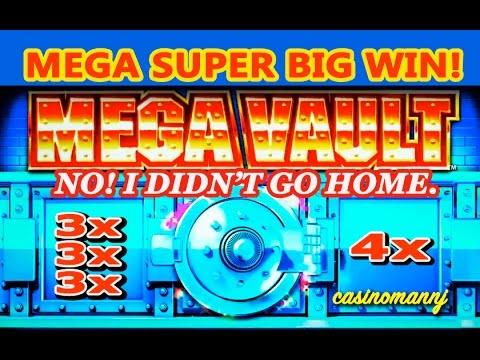 MEGA VAULT SLOT *MEGA SUPER BIG WIN** -NO! I DIDN'T GO HOME. – Slot Machine Bonus