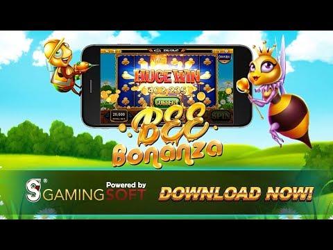 GamingSoft Slots – Bee Bonanza (Mega Win)