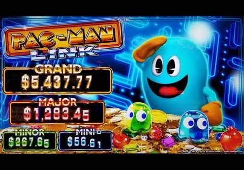 WINNING on NEW GAME! PAC MAN LINK + ULTIMATE FIRE LINK SLOT POKIE BONUSES – PECHANGA