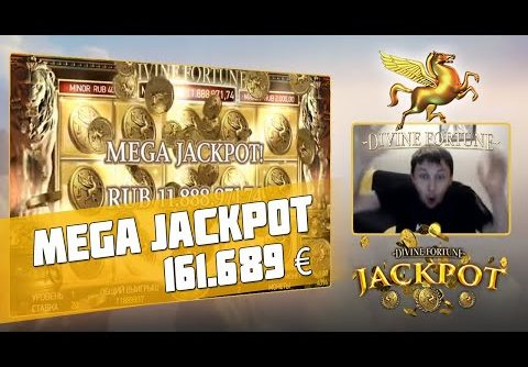 Russian streamer won the Divine Fortune – Mega Jackpot! 161.689 €