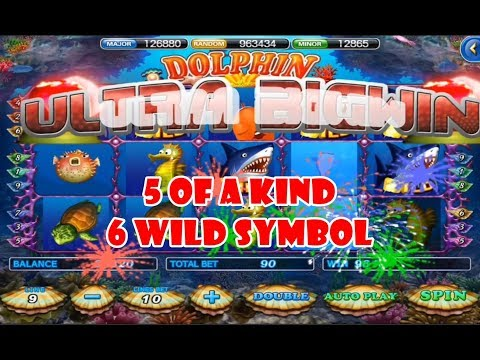 918Kiss Ultra Big Win – Dolphin Sea Paradise Slot Game!