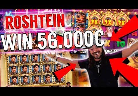 ROSHTEIN Win 56.000€  on Book of Dead slot – Top 5 Biggest Wins of week