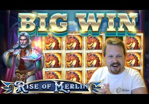 BIG WIN on Rise of Merlin (NEW SLOT)