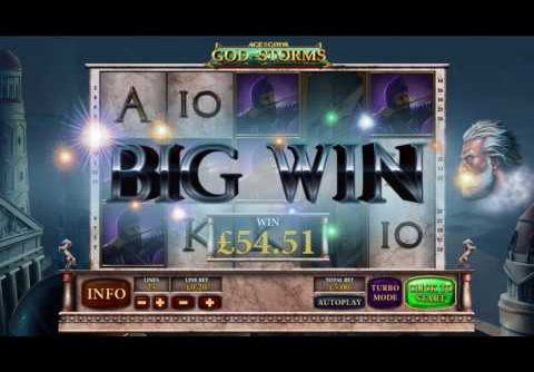 Playtech Age of the Gods God of Storms Slot Review: Big Wins, Jackpots, Bonus Rounds