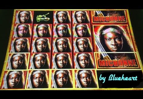 **Michonne Delivers!** The WALKING DEAD 2 slot machine LIVE PLAY BONUS BIG WINS
