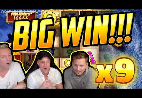 MEGA WIN! Wolf Legend Megaways BIG WIN – Huge Win on Casino slot from CasinoDaddy